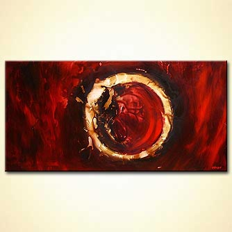 modern abstract art - The Ring