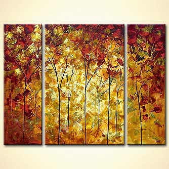Forest painting - Autumn