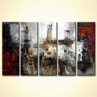 modern abstract art - Sin City