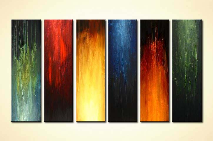 painting for sale modern abstract painting multi panel 4150