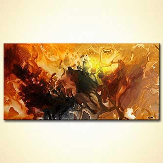 Abstract painting - Curealis