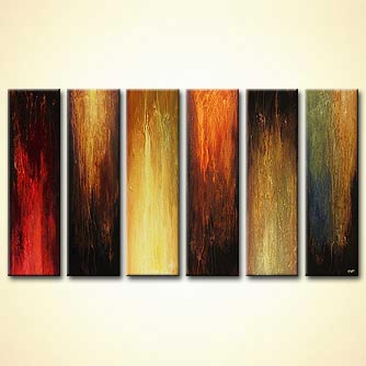 modern abstract art - Six Different Stories