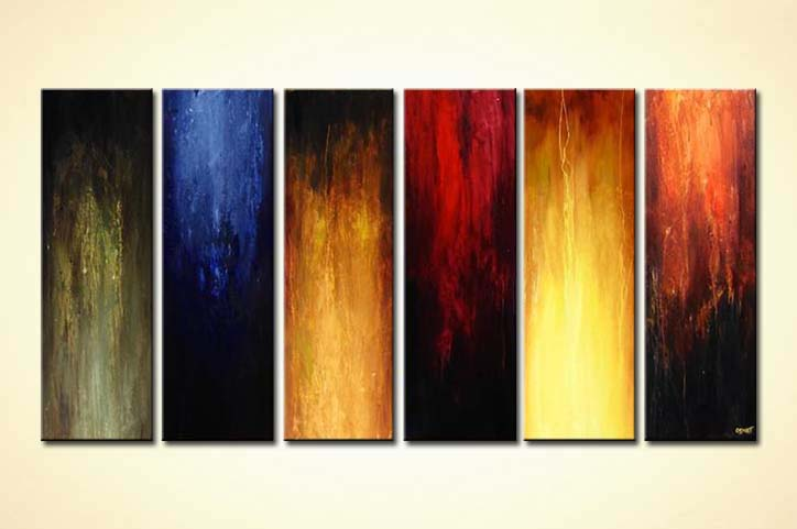 modern abstract art - Wonderful Six