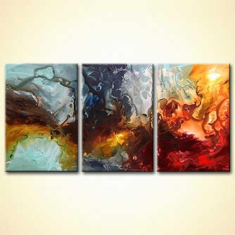modern abstract art - Starbirth