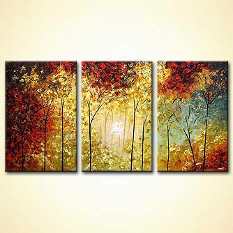 forest landscape canvas art