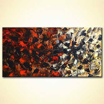 modern abstract art - Breaking the Silence