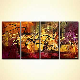 modern abstract art - Horoscope