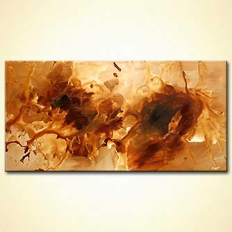 Abstract painting - Hush