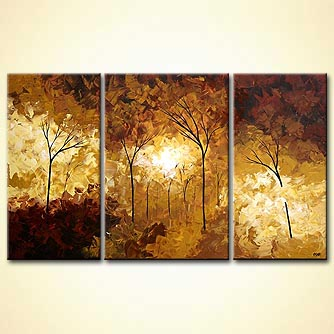 Forest painting - Better in Time