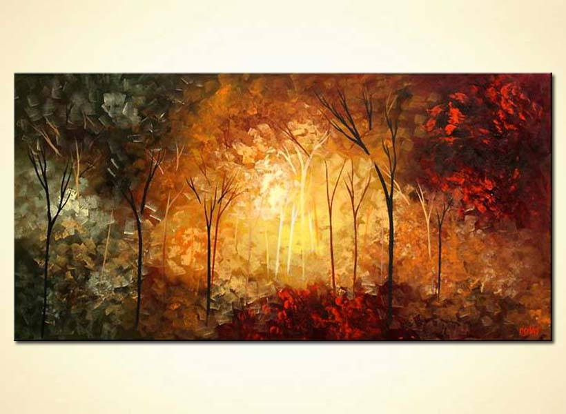 Painting Forest Forest Featured Paintings