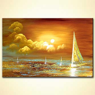 Seascape painting - Sailing in Your Ocean