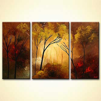Forest painting - Something to Remember