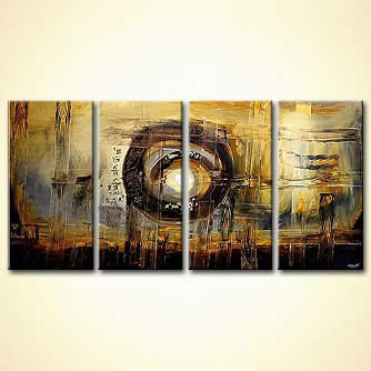 modern abstract art - Stargate