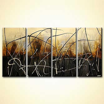 modern abstract art - The Harvest