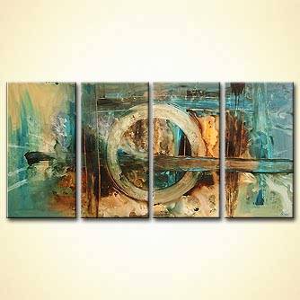 modern abstract art - The Choice