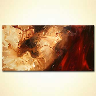 Abstract painting - Mars