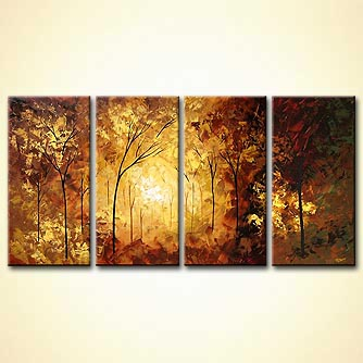 Forest painting - Precious Moments