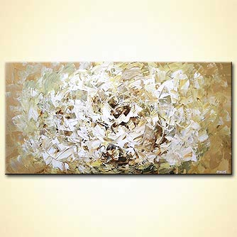 Floral painting - White Flower
