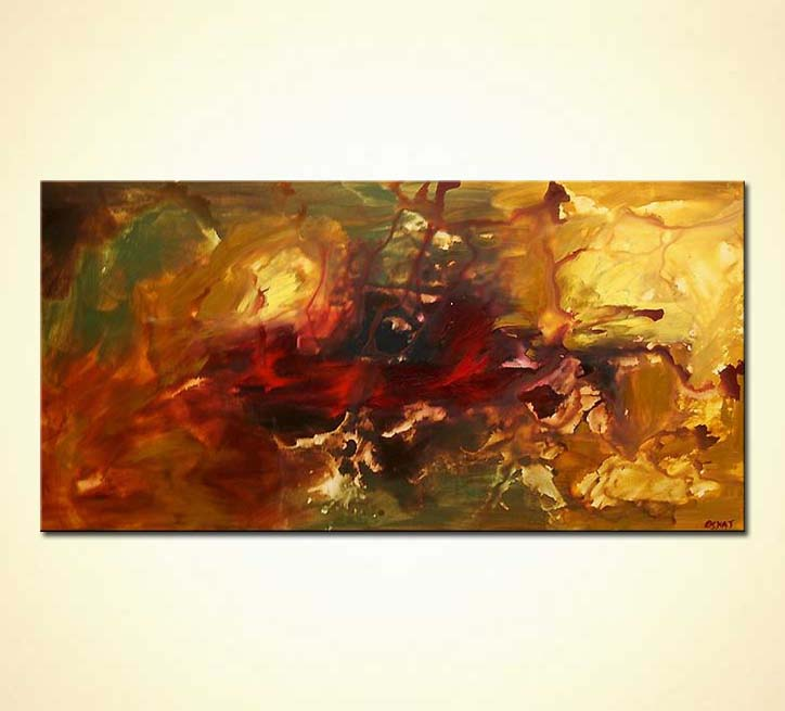 modern abstract art - Aladin-s Garden