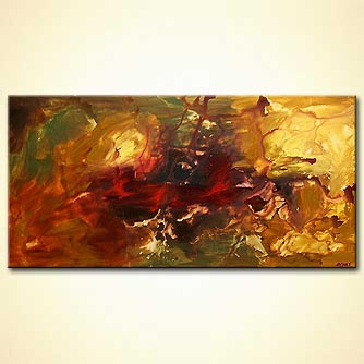 Abstract painting - Aladin-s Garden