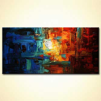 Abstract art by Osnat Tzadok