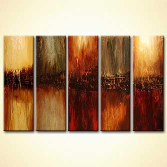 modern abstract art - The Decisions