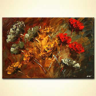 Giclee print - Stop to Smell the Roses
