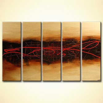 modern abstract art - Signs