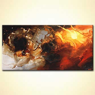 Abstract painting - A Soul of an Artist