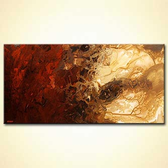 Abstract painting - Entry Into Mars