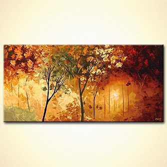 Forest painting - The Courtyard
