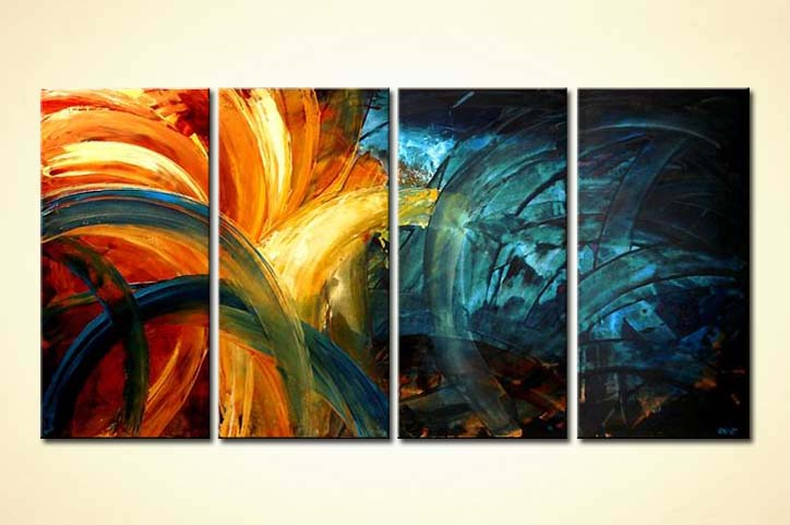 Abstract painting original abstract home decor painting for Abstract decoration