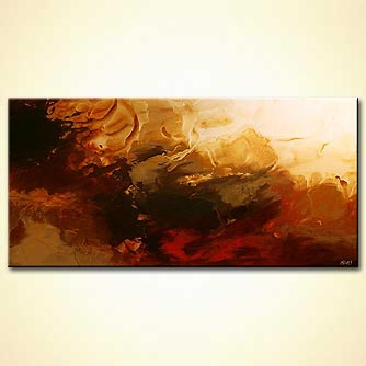 Abstract painting - The Core