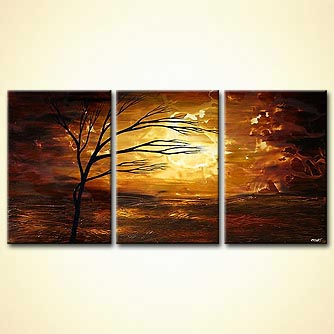 Landscape painting - Age of Dawn