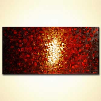 Abstract painting - The Passage