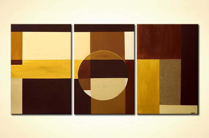 Geometric paintings for sale - Fine Art by Osnat Tzadok