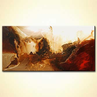 Abstract painting - The Last Continent