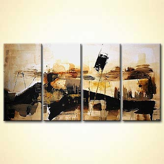modern abstract art - Abstract Landscape