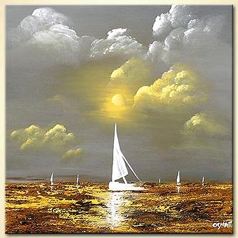 Seascape painting - Crystal