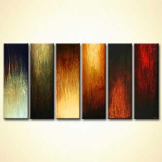modern abstract art - Standing Tall