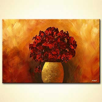 Floral painting - My Rose