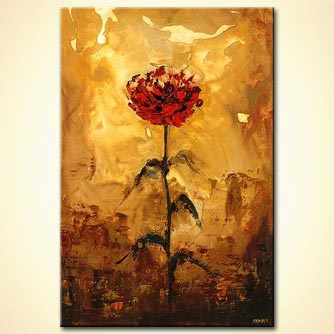 modern abstract art - My Beautiful Rose