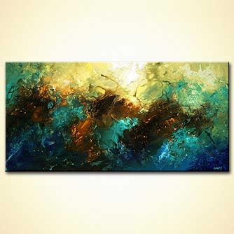 Seascape painting - Northwest of Earth