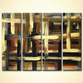 Abstract painting - Traffic