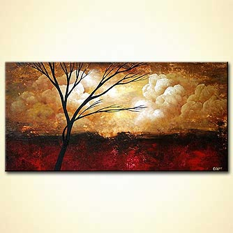 Landscape painting - New Day