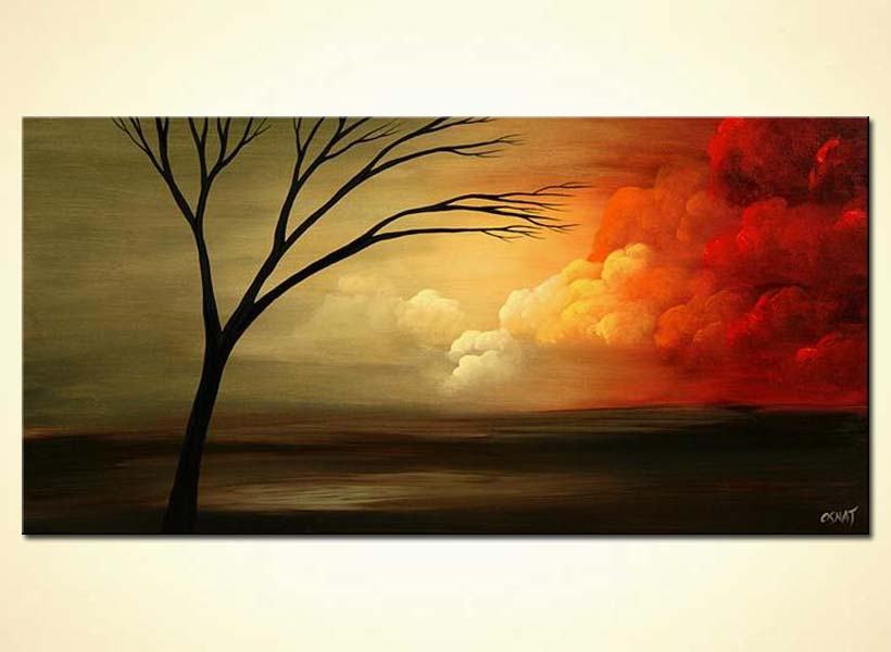 Painting For Sale Sunrise Painting Steps To Heaven 4689