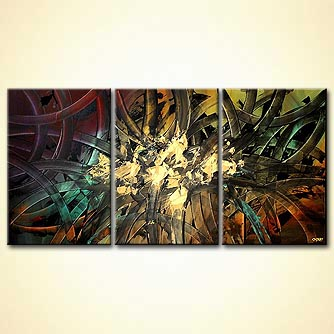 Abstract painting - Diversity