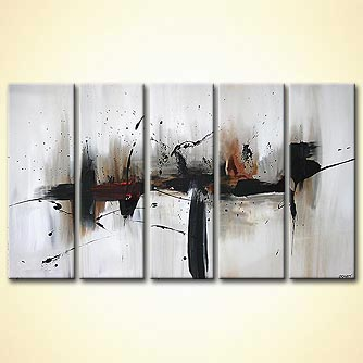 Abstract painting - Whole Wide World