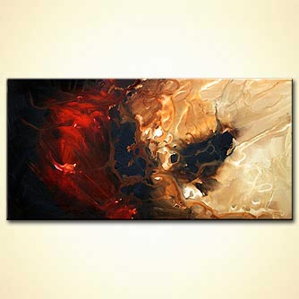 Abstract painting - Wake