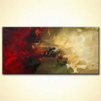 Abstract painting - Tigama